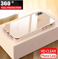 For iPhone 11 Pro Max –  Full Coverage 360 Gel / Tempered Glass Screen Protector