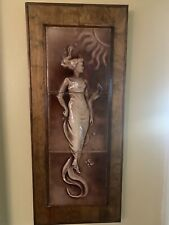 "United States Encaustic Tile Set ""Dawn"" Majolica-Glazed 19th c. Victorian Rare"