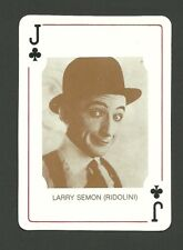 Larry Semon - Ridolini Movie Film Star Actor Collector Playing Card