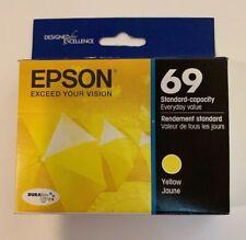 Epson 69 DuraBrite Ultra Ink Yellow T069420 New In Box