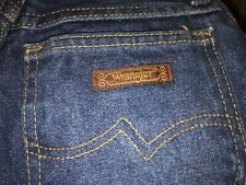 2 Pair Vintage Wrangler Jeans Size 3 Average Womens Jr. Denim 32� Inseam