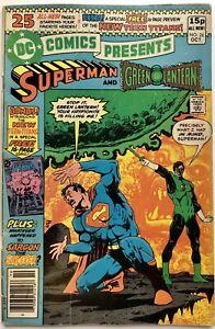 DC Comics Presents #26 (1980) 1st Appearance New Teen Titans UK Pence Variant