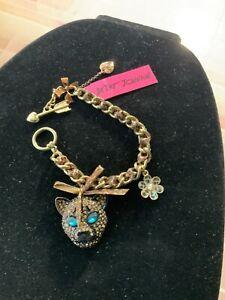 Betsey Johnson Jungle Fever Leopard Bracelet - 10 K.O.