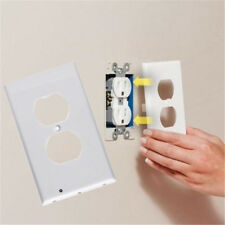 Newest Wall Outlet Cover plate Plug Cover with LED Lights Hallway Bathroom Light
