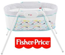 Fisher-Price Stow 'n Go Baby Bassinet Travel/Portable//Bed/Safe/Secure/Cot/Baske