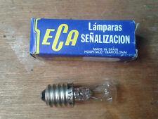 Lampara señalizacion pequeña 12 v - 30W - E14