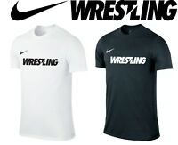 Nike Wrestling T-shirt Mens Training Shirt S-2XL