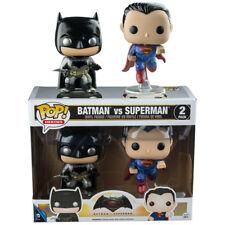 Batman V Superman: Dawn of Justice - Metallic Batman and Superman Pop! Vinyl