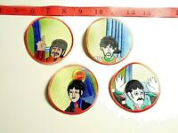 The Beatles set of 4 solo patches John Lennon, Paul McCartney, Ringo Starr BX