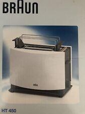 Braun Multitoast HT 450 Toaster - Weiß (372295) Neu in OVP