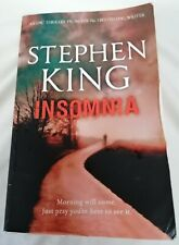 BOOK - Insomnia By Stephen King Paperback Hodder Fiction Horror Fantasy Thriller