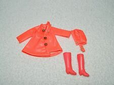 Vintage Topper Dawn Fashion Doll City Slicker Coat Hat & Boots