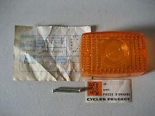 CABOCHON DE CLIGNOTANT PEUGEOT TXE / LENS FLASHER PEUGEOT TXE
