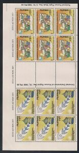 Philippines   1988   Sc # 1972-73   Sheet of 6 each   MNH   (53894)