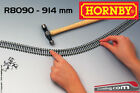 HORNBY LIMA R8090 - H0 1:87 - Binario semi flessibile 914 mm in Nickel Silver