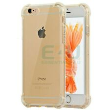For Apple iPhone 6 Airbag Anti-Shock Phone Case - Transparent Gold