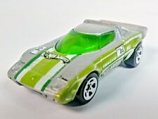 New Listing2008 Hot Wheels Mystery Cars Lancia Stratos Hf Tipo 829 Silver 5-Sp 1/64 Loose