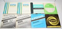 Vintage Lot of 8 Various Brands Recorded 7 inch Reel To Reel Tapes Lot # 4