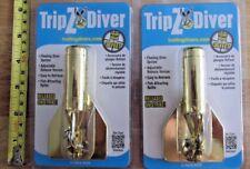 2 Walker Floating TripZ Divers #30 w/release trolling fishing lure 34 Feet+ Deep