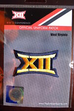 Official Licensed NCAA College Football West Virginia BIG 12 Conference Patch