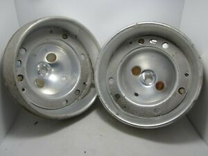 62 Ford Galaxie Country Sedan Squire Ranch Wagon Tail Light Bezel Pair (2) USED
