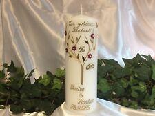Kerze Goldene Hochzeit Gunstig Kaufen Ebay