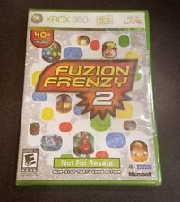 Fuzion Frenzy 2 (Xbox 360, NFR Printing) fusion xb360 video game party mini NEW