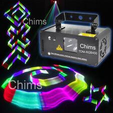 Chims DJ Stage Lighting 3D Laser Light DMX 512 Control RGB 400mW Party Dance