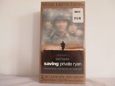 Saving Private Ryan VHS Tape- Never Used