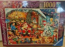 Ravensburger 2018 limited edition Christmas 1,000 piece jigsaw. New/sealed