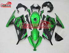 Complete Fairing Kit for Kawasaki Ninja 300 EX300 2013 2014 2015 2016 Green