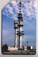 EUROPE  TELECARTE / PHONECARD .. POLOGNE 25Z URMET TP ANTENNE TV RADIO TELECOM