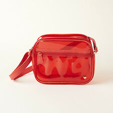 NWT Stephanie Johnson Camera Crossbody Bag in Red POPSUGAR
