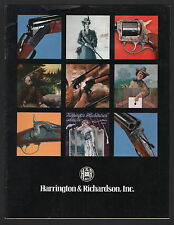 Harrington & Richardson Sporting Arms Catalog - 1977