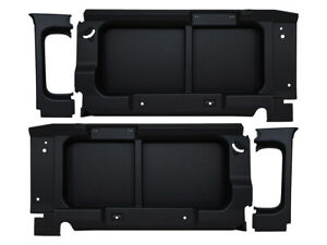Land Rover Defender 90 Rear Window Surrounds Trims Without Cut Outs Black FA1644
