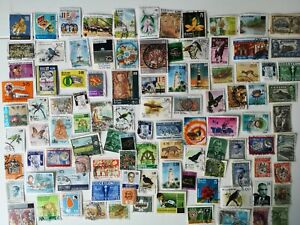 100 Different Ceylon and Sri Lanka Stamp Collection