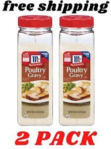 2 PACK McCormick Poultry Gravy Mix (18 oz.)
