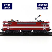HOT Atlas Collections 1/87 Modèle de locomotive de train Serie BB 9292 (1964)