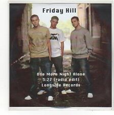 (FO31) Friday Hill, One More Night Alone - DJ CD