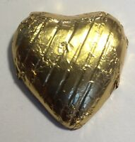 100 GOLD FOIL CHOCOLATE LOVE HEARTS WEDDING FAVOURS VALENTINES
