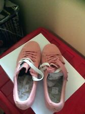 women's shoes-Size 9 , Pink Puma Sneakers, Pre-owned, Suede