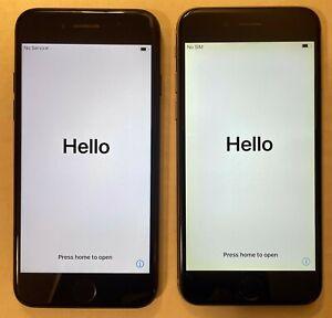 Apple iPhone 7 128GB Black & Apple Iphone 6 128GB Silver - ATT USED
