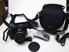 Nikon COOLPIX L820 16 MP Digital Camera with 30x Zoom Lens BLACK + Bag Cords mor
