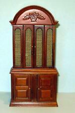 JBM MINIATURES SPANISH CABINET WITH CANE DOORS DOLLHOUSE FURNITURE  MINIATURES