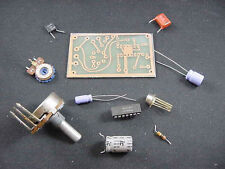 """Old School""  Project Kit  5 WATT AMPLIFIER (11 parts,  ICs LM380, 741C, 1M pot)"