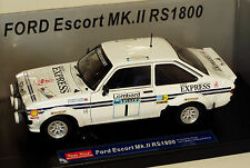 1/18 Ford Escort Mk2 RS1800 Daily Express LOMBARD RALLY RAC 1977 Roger Clark