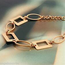 18K Rose Gold Filled Bracelet (B-198)