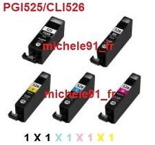 Cartouches d'encre compatibles Canon MG5200 PGI525 CLI526 PG525 CL526 AU CHOIX