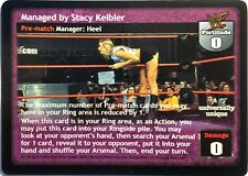 WWE Raw Deal CCG Summer Slam 6.0 Managed By Stacy Keibler