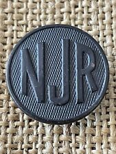 WWI US Collar Disc NJR New Jersey Reserve